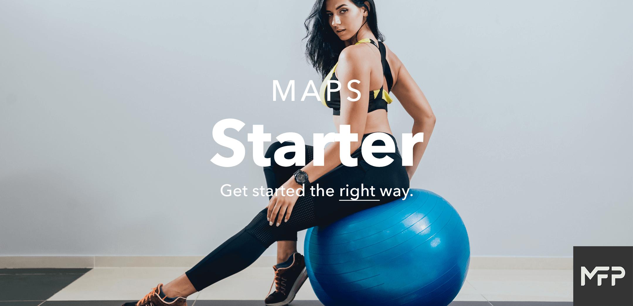 MAPS Starter Landing Page Banner