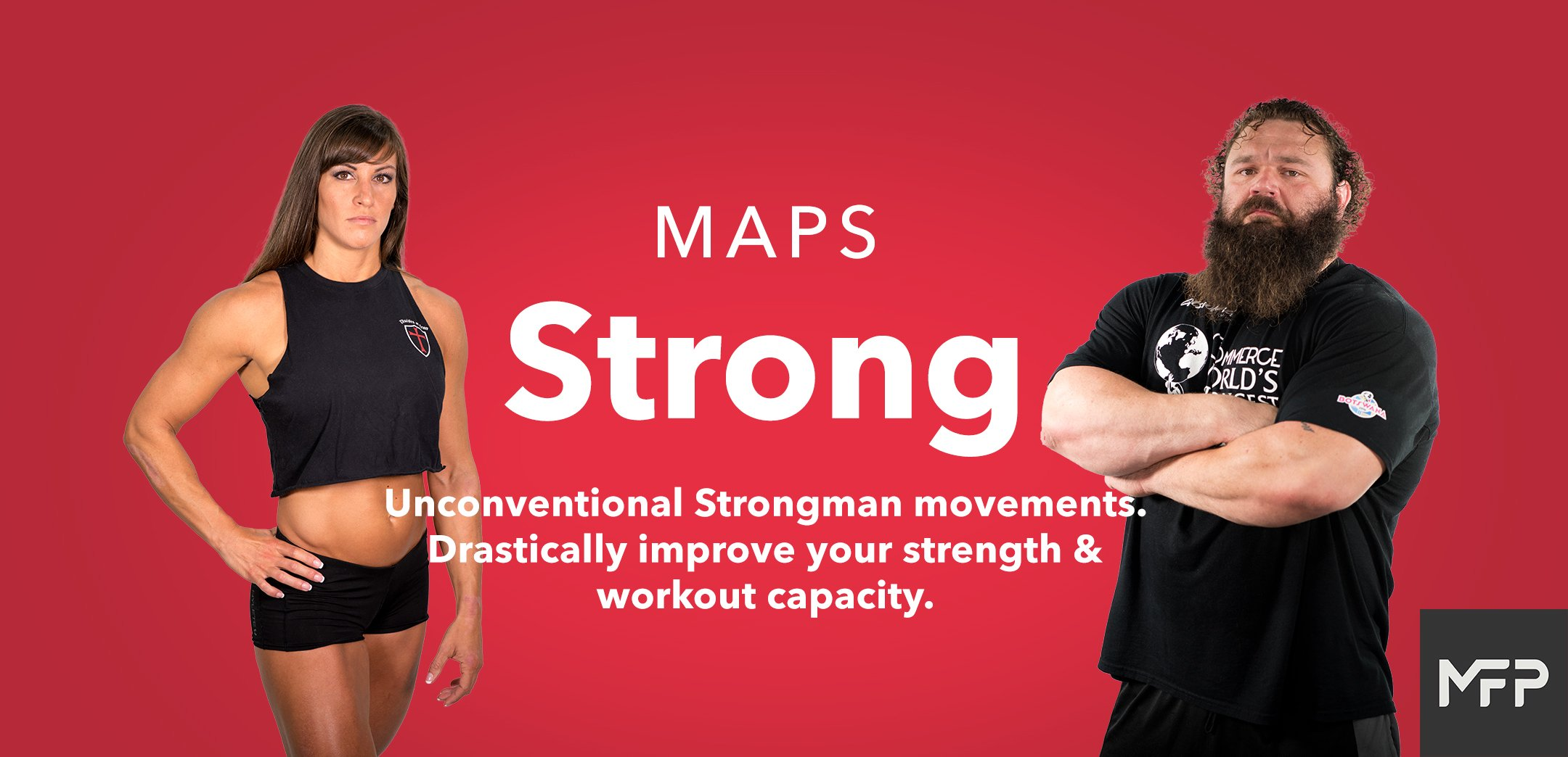 MAPS Stronger Banner