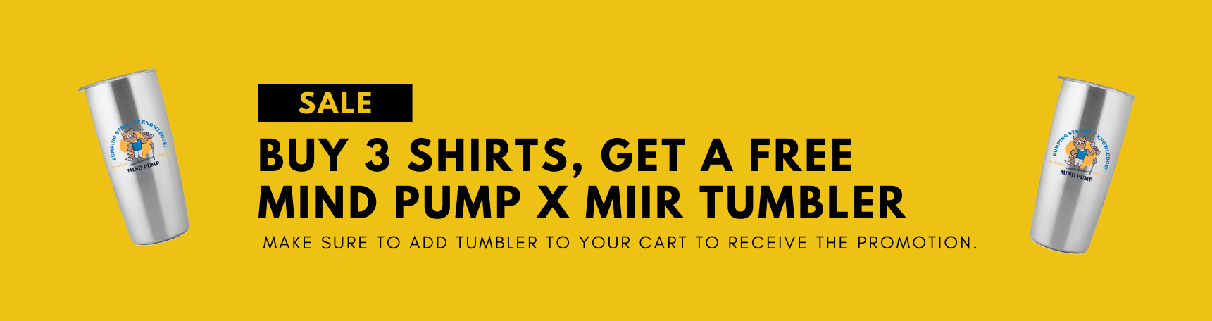 BUY 3 SHIRTS, GET A FREE MIIR #STAYAUTHENTIC BOTTLE (3)