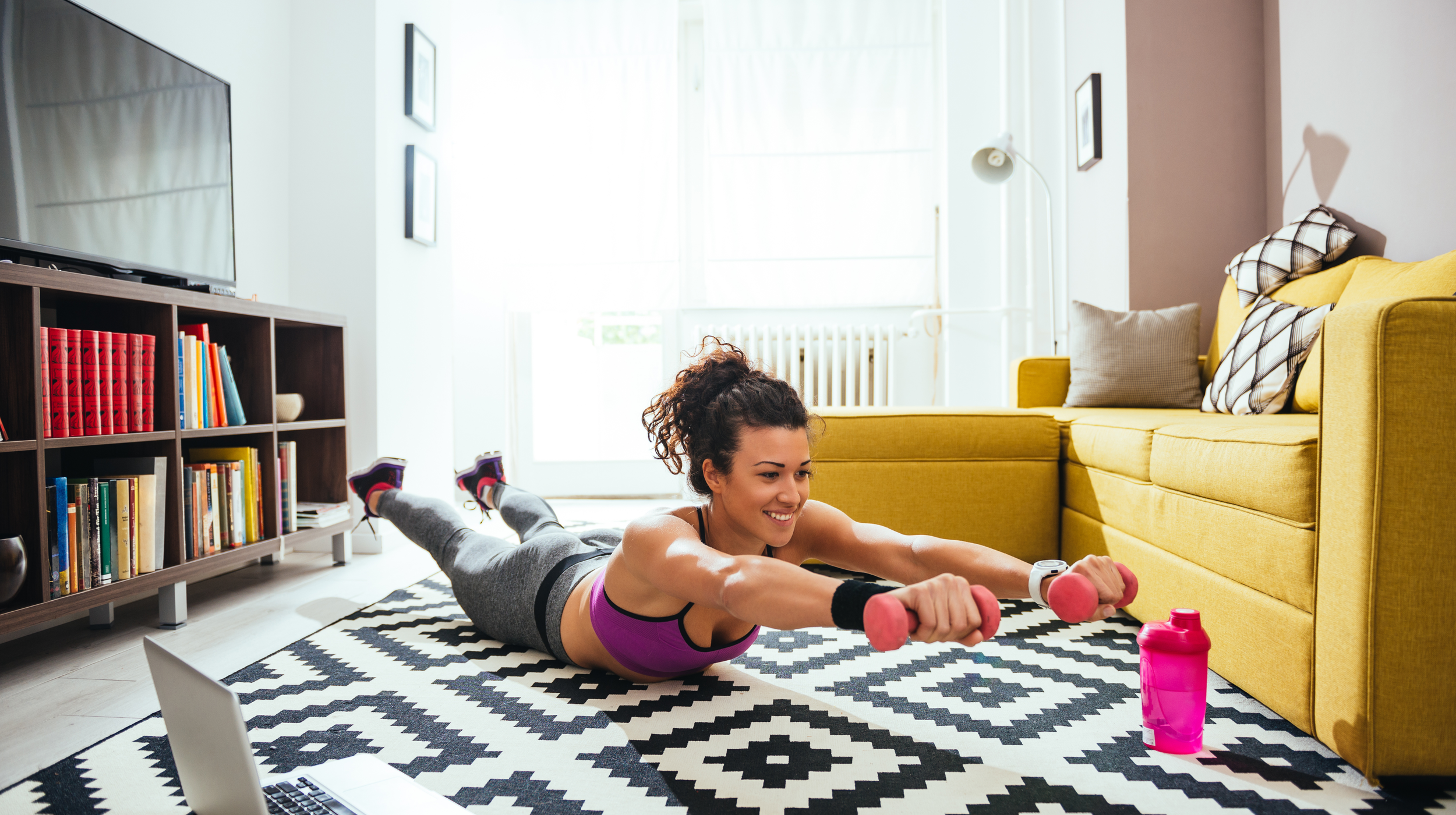 Can Working Out at Home Actually Get You in Shape?