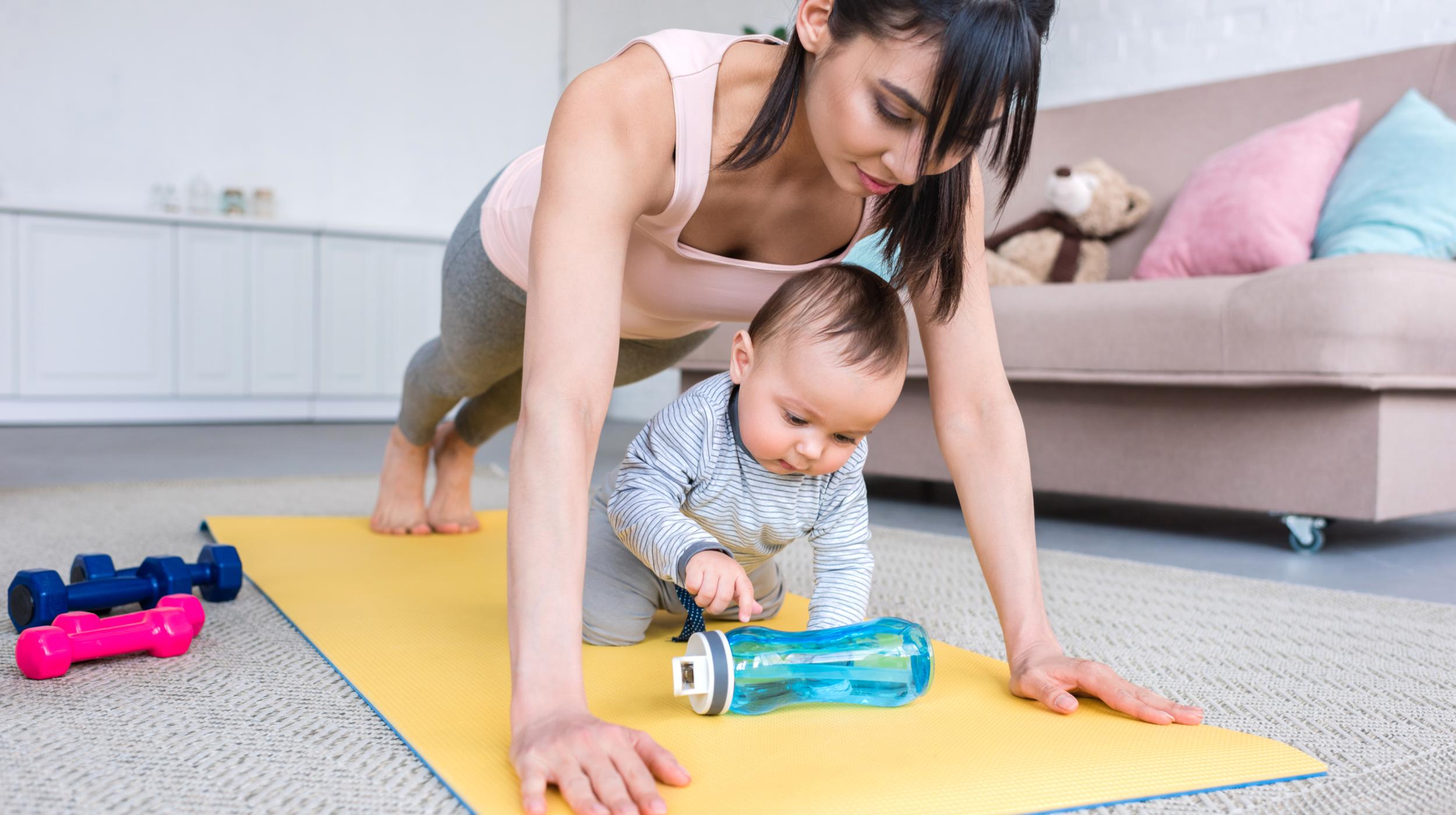 Safe Exercises for Postpartum Training