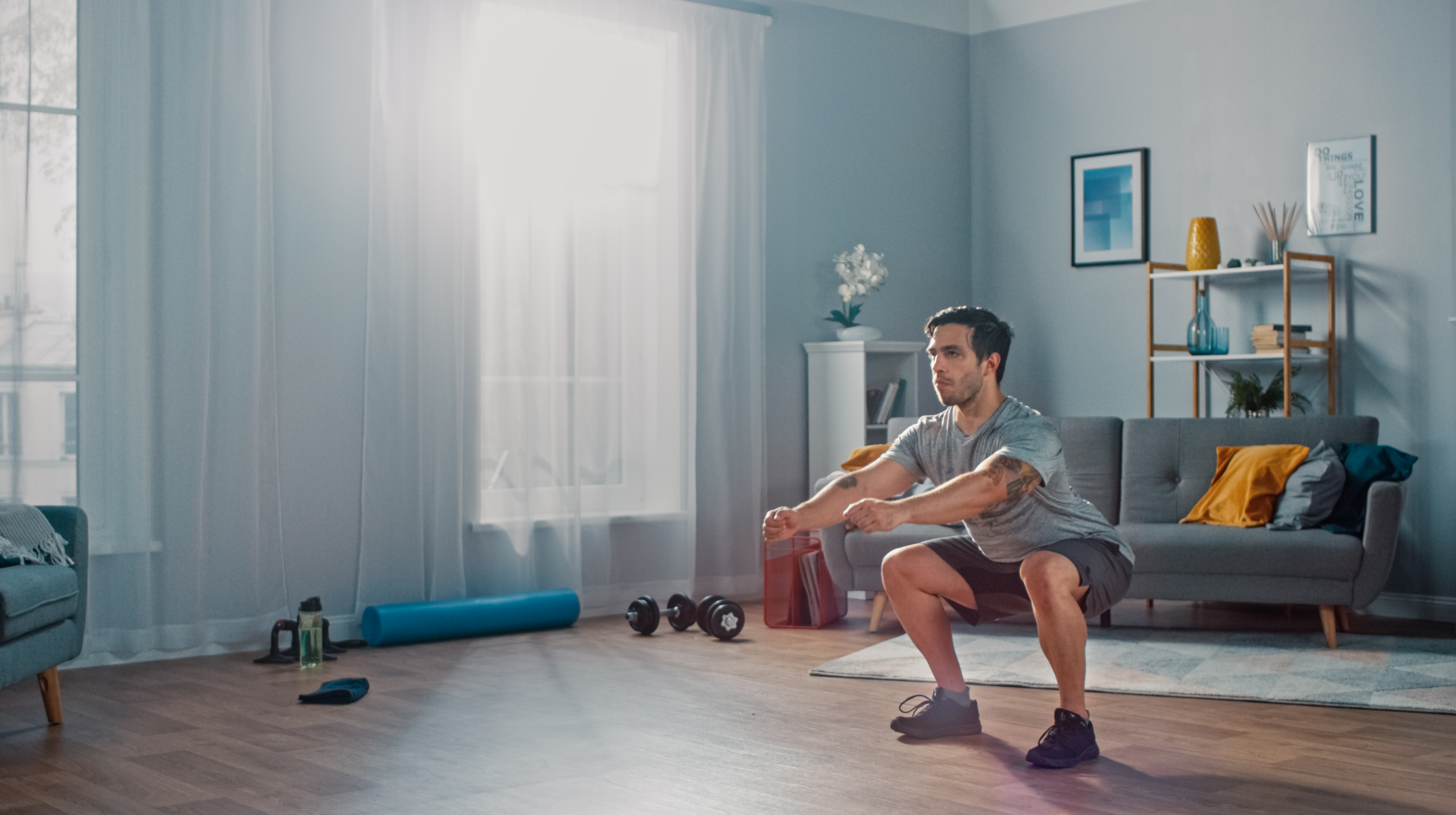 How to Continue Building Muscle While You're Stuck at Home