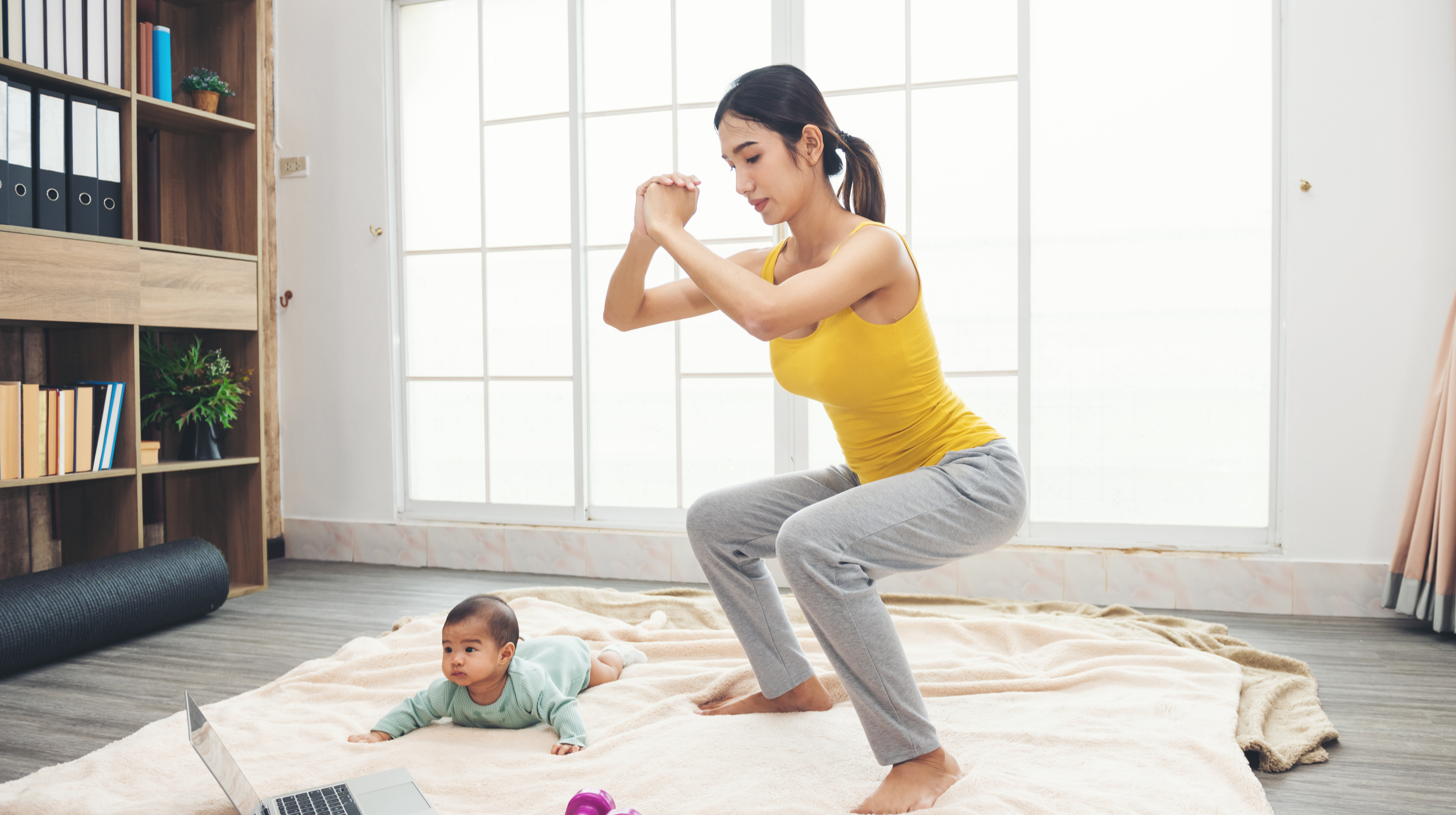 Losing Weight After Having Your First Child – 3 Steps to Follow