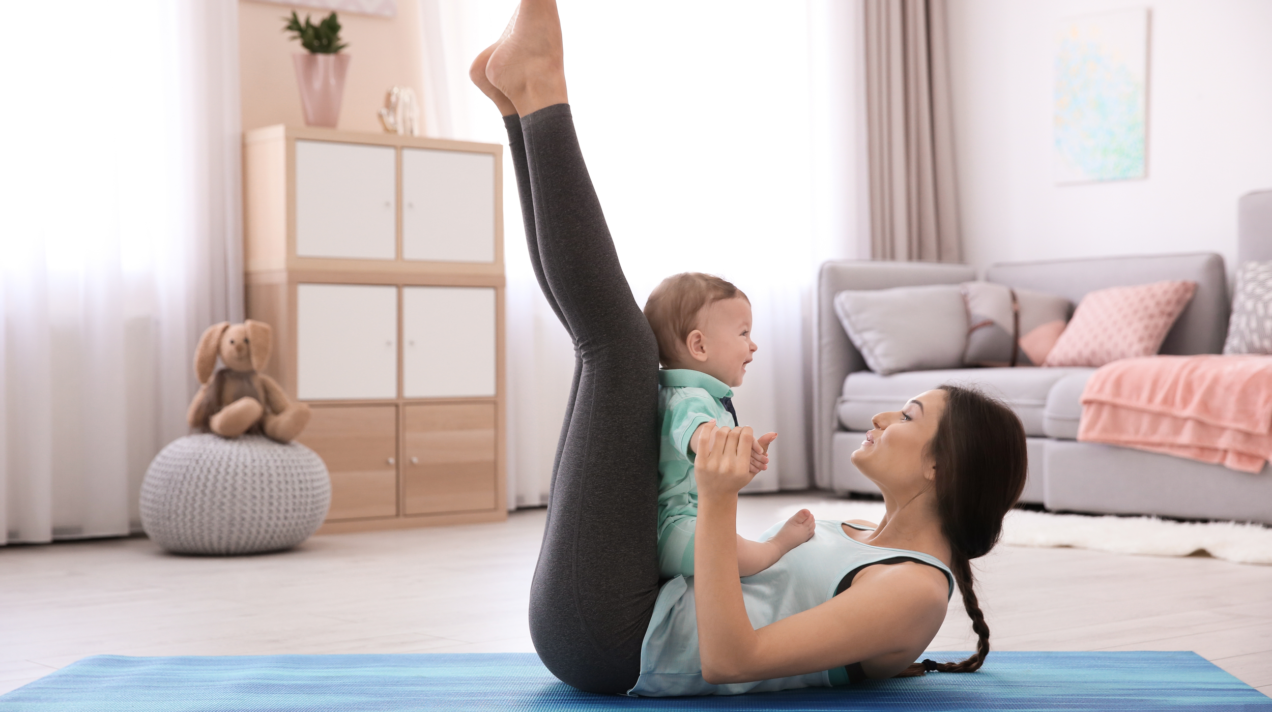 Working Out at Home with Your Newborn